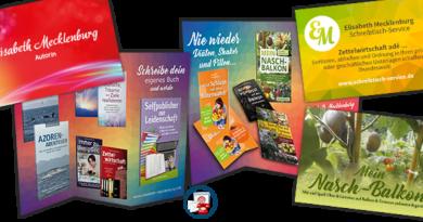 Designer für Buch-Cover, Visitenkarten, Flyer, etc …