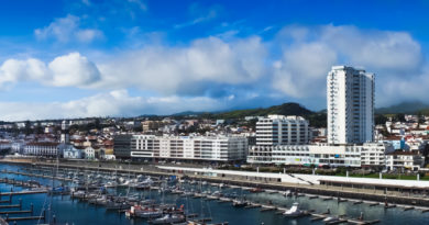 Sao Miguel - Depositphotos Nr.14726777 @ matfron - Beautiful view of Ponta Delgada, Acores, Portugal