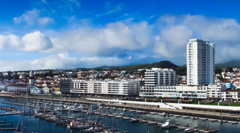 Sao Miguel - Depositphotos Nr.14726777 @ matfron - Beautiful view of Ponta Delgada, Acores, Portugal